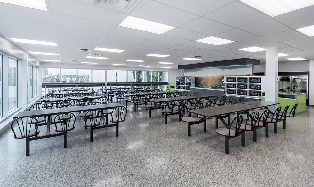 plant cafeteria