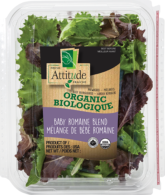 Organic Baby Romaine Blend