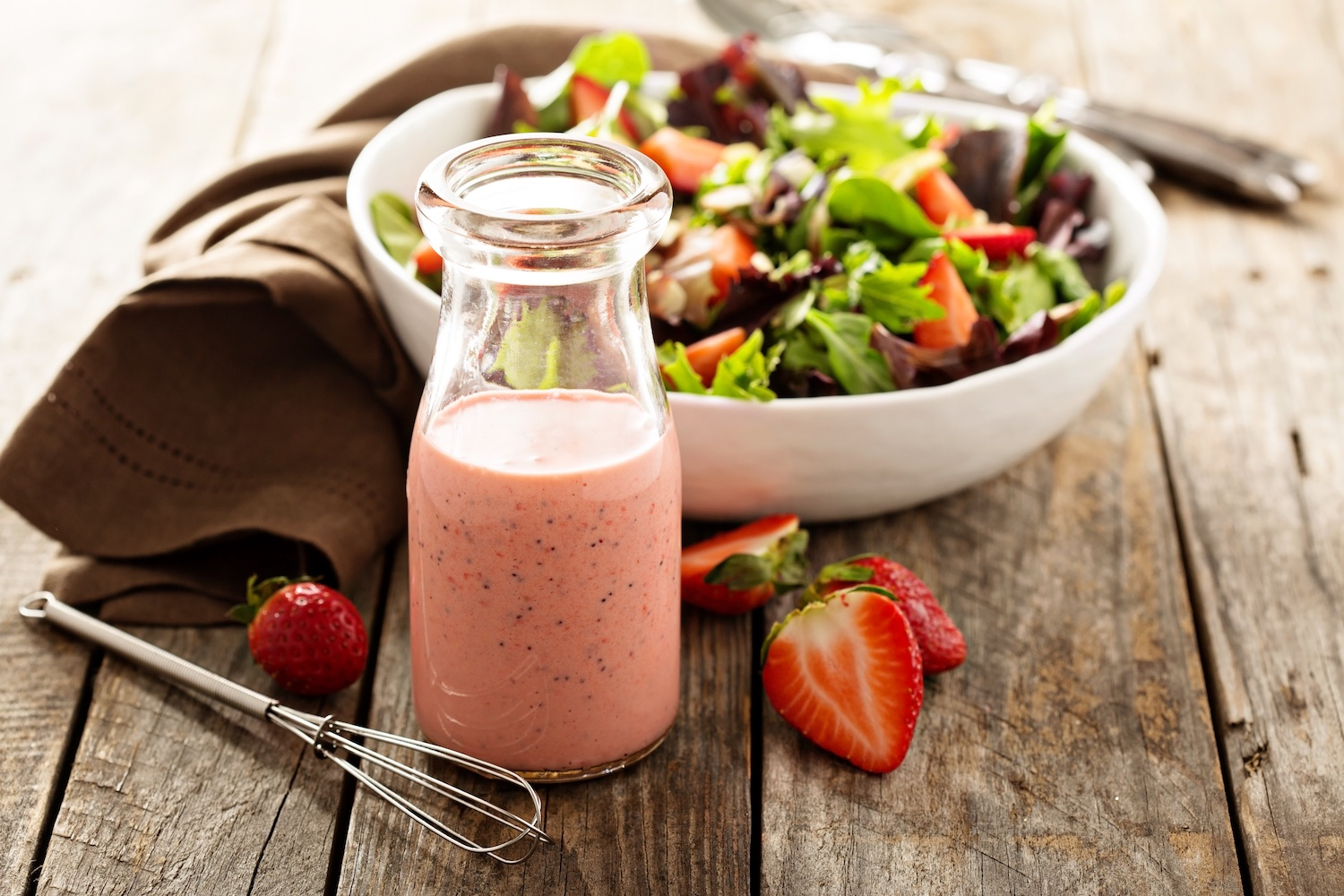 Strawberry dressing