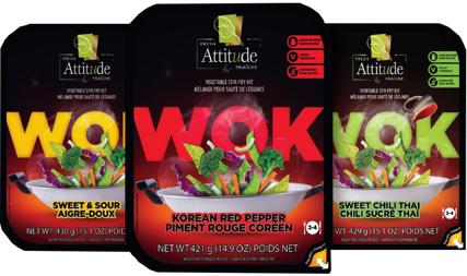 Vegpro International lance sa nouvelle gamme WOK Attitude FraîcheMC